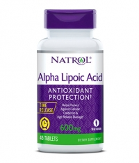 NATROL Alpha Lipoic Acid Time Release 600mg. / 45 Tabs.