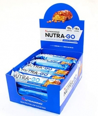 NUTRAMINO Nutra-GO Proteinbar Box 12x64