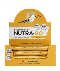 NUTRAMINO Nutra-Go Protein Wafer Box 12x39