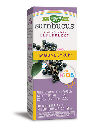NATURES WAY Sambucus for Kids Original Syrop/ 120ml