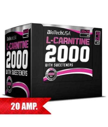 biotech-usa L-Carnitine 2000mg. 20 fiole