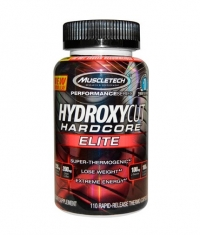 MUSCLETECH Hydroxycut Hardcore Elite 110 Caps.