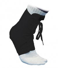 MCDAVID Laced Ankle Guard /Black/
