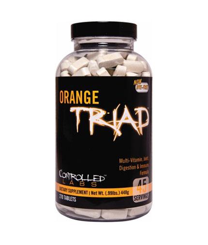 controlled-labs Orange Triad 270 Tabs.