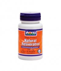 NOW Natural Resveratrol /Mega Potency/ 200mg. / 60 VCaps.