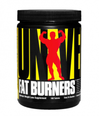 UNIVERSAL Easy-To-Swallow Fat Burners 100 Tabs.