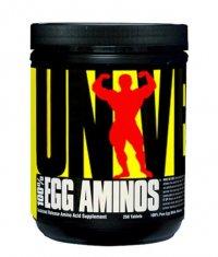 UNIVERSAL 100% Egg Aminos 250 Tabs.