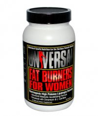 UNIVERSAL Fat Burners for Women 120 Tabs.