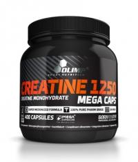 OLIMP Creatine Mega Caps 1250 mg. / 400 Caps .