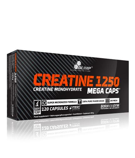 olimp Creatine Mega Caps 1250 mg. / 120 Caps.