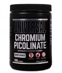 UNIVERSAL Chromium Picolinate 100 Caps.