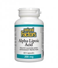 NATURAL FACTORS Alpha Lipoic Acid 200mg. / 60 Caps.