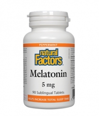 NATURAL FACTORS Melatonin 5mg / 90 Tabs.