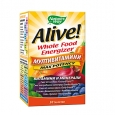 NATURES WAY Alive Whole Food Energizer Multi-Vitamins 30 Tabs.