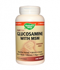 NATURES WAY FlexMax Glucosamine With MSM 240 Tabs.