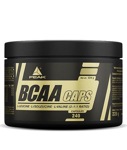 peak BCAA 220 Caps.