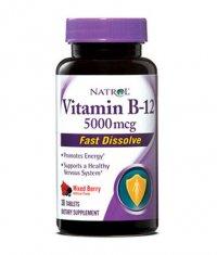 NATROL Vitamin B 12  Fast Dissolve 5000mcg / 30 Tabs.