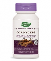 NATURES WAY Cordyceps Standardized 60 Caps.