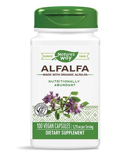 natures-way Alfalfa Leaves 100 Caps.