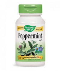 NATURES WAY Peppermint Leaves 100 Caps.