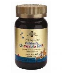 SOLGAR Children's DHA 90 Chewie-Gels