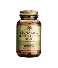 SOLGAR Cinnamon Alpha Lipoic Acid 60 Tabs.
