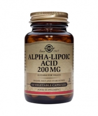 SOLGAR Alpha Lipoic Acid 200mg. / 50 Caps.
