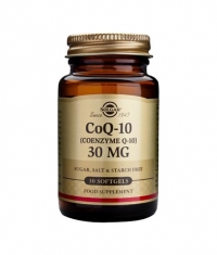 SOLGAR Coenzyme Co-Q10 30mg. / 30 VCaps.