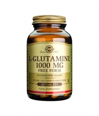 SOLGAR L-Glutamine 1000 mg. / 60 Tabs.