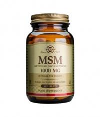 SOLGAR MSM 1000 mg. / 60 Tabs.