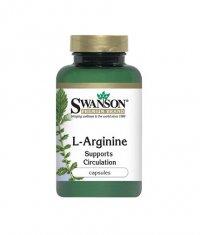 SWANSON L-Arginine 500mg. / 100 Caps.