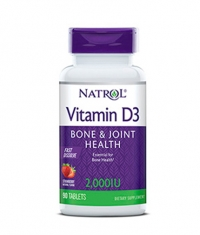 NATROL Vitamin D3 2,000 IU Fast Dissolve / 90 Caps.
