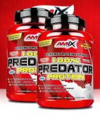 PROMO STACK Amix 100% Predator Protein 2.2 Lbs. / x2