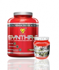 PROMO STACK BSN Syntha-6 / 5 Lbs. / Amix Amino Pills 660 Tabs.