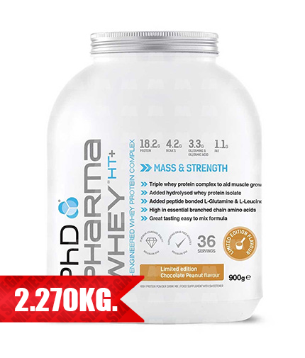 PhD Pharma Whey HT+   5 lb 2.270