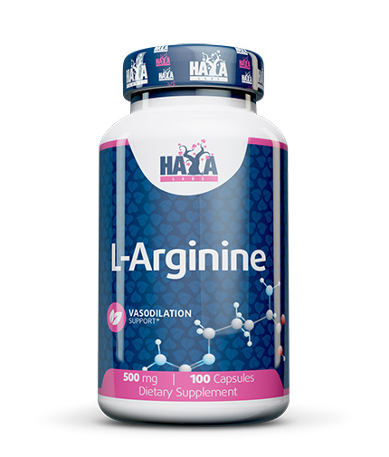 haya-labs L-Arginine 500mg. / 100caps.