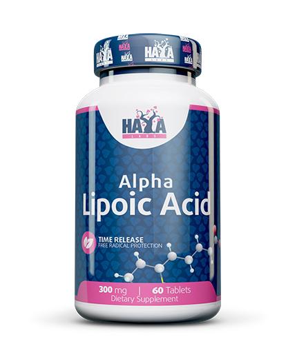haya-labs Sustained Release Alpha Lipoic Acid 300mg. / 60 Vtabs.