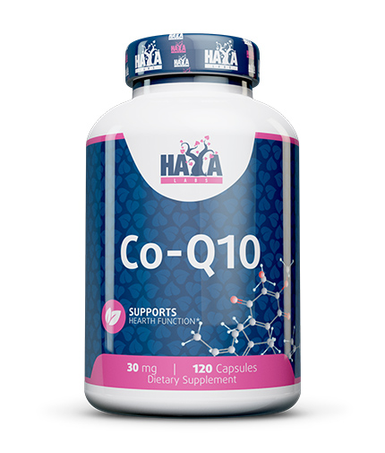 haya-labs Co-Q10 30mg. / 120 Vcaps.