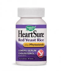 NATURES WAY HeartSure Red Yeast Rice Plus Phytosterols 60 Caps.
