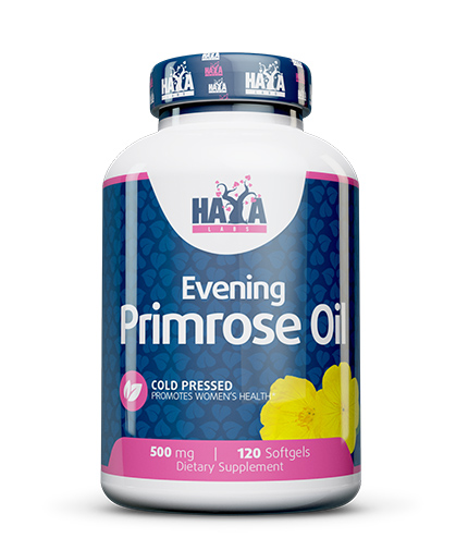 haya-labs Evening Primrose Oil / Cold Pressed / 500mg. / 120 Softgels