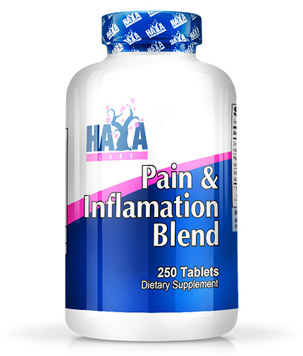 haya-labs Pain & Inflammation Blend 250 Tabs.