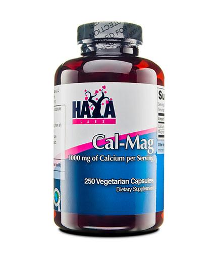 haya-labs Calcium & Magnesium 250 Vcaps.
