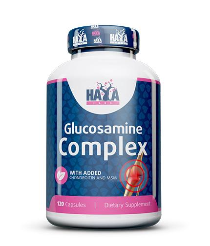 haya-labs Glucosamine Chondroitin & MSM Complex 120 Caps.
