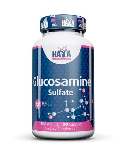 HAYA LABS Glucosamine Sulfate 500mg. / 90 Caps.
