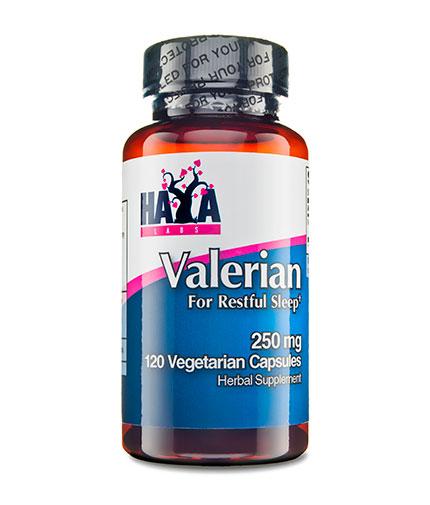 HAYA LABS Valerian 250mg. / 120 Vcaps.