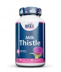 HAYA LABS Milk Thistle 100mg. / 60 Vcaps.