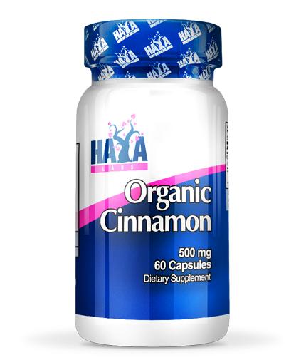 HAYA LABS Organic Cinnamon 60 Vtabs.