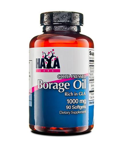haya-labs Cold Pressed Borage Oil / 1000mg. / 90 Softgels