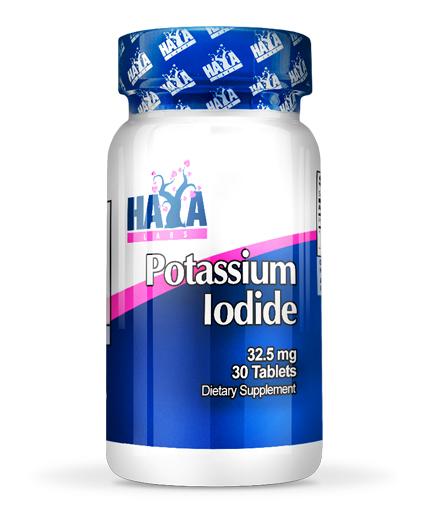 haya-labs Potassium Iodide 32.5mg. 30 Tabs.