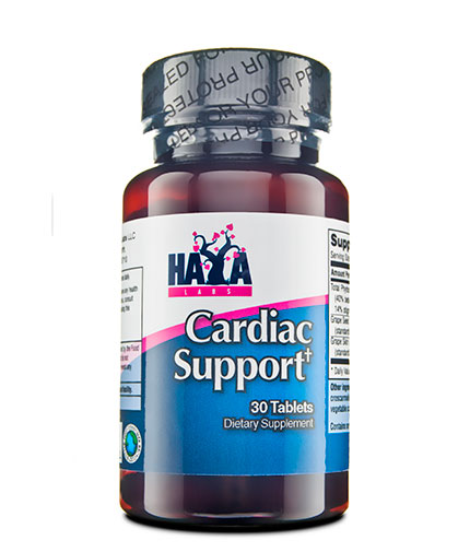 HAYA LABS Cardiac Support 30 Tabs.